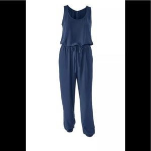 Cabi Navy #303 French Romper-Jumpsuit S